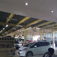 Photo taken at Honda Soekarno Hatta by Afrina R. on 6/23/2014