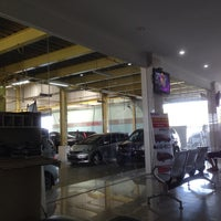 Photo taken at Honda Soekarno Hatta by Afrina R. on 12/17/2013