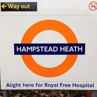 Photo taken at Hampstead Heath London Overground Station by Alan B. on 11/14/2013