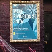 Photo taken at Make Rivington St Snow by Alan B. on 12/15/2012