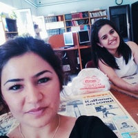 Photo taken at Osmangazi İl Halk Kütüphanesi by Dilan Y. on 8/21/2014