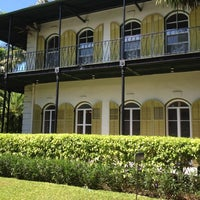 Photo taken at Ernest Hemingway Home & Museum by Susan H. on 10/19/2012