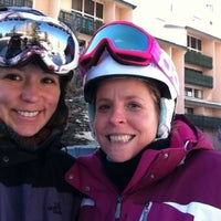 Photo taken at Evergreen Lodge at Vail by Lisa N. on 1/18/2013