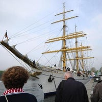 Photo taken at Segelschulschiff Gorch Fock by Mario M K. on 8/1/2013