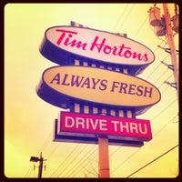 Photo taken at Tim Hortons by Garry K. on 1/4/2013