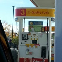 Photo taken at Shell by Krystina on 10/7/2012