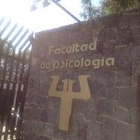 Photo taken at Facultad de Psicología, UNAM by marco e. on 1/25/2013