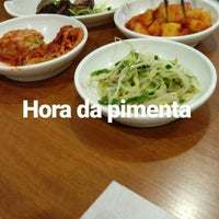 Photo taken at MIRIM Restaurante Coreano | 미림 by Erick S. on 1/4/2017