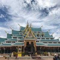 Photo taken at Wat Pa Phu Kon by Pammylas on 7/15/2018