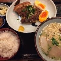 Photo taken at 沖縄料理  アチココ by oka(TEX®︎) K. on 8/29/2017