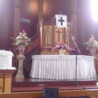 Photo taken at HKBP BALIKPAPAN Gunung Malang by Manroe P. on 6/22/2014