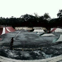 Photo taken at Youth Park Skate Park by Alyaaaaaa .. on 11/6/2016