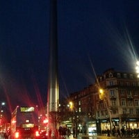 Photo taken at The Spire of Dublin by Ugur B. on 1/10/2013