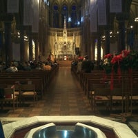 Photo taken at Saint Francis Xavier College Church by Peter S. on 1/3/2013