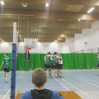 Photo taken at Sporthal Poperinge by Michiel B. on 1/28/2017