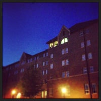 Photo taken at Nelson Hall by Ryan S. on 8/18/2013