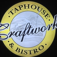 Photo taken at Craftworks Taphouse & Bistro by Haru on 7/16/2013