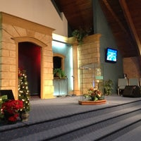 Photo taken at The Potter's Christian Life Center by DeLauren on 12/16/2012