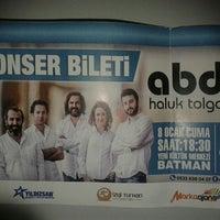 Photo taken at Batman  Kültür Merkezi Konser by ....... T. on 1/8/2016