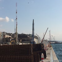 Photo taken at Salıpazarı Limanı - İstanbul by Ulvi A. on 8/12/2016