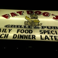 Photo taken at Fat Dog's Grille & Pub by Kyle S. on 1/31/2013