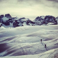 Photo taken at Monte Spinale by Marco L. on 3/15/2014