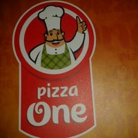 Photo taken at Pizza One by Hugo N. on 5/5/2012