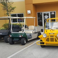 Photo taken at Reliable Golf Carts, inc by Kinsey H. on 3/22/2017