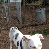 Photo taken at Happy Valley Dog Park by Andrew R. on 4/28/2013