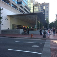 Photo taken at Apple Pioneer Place by Andrew R. on 6/8/2014