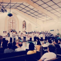 Photo taken at Bacolod Evangelical Church by Wayne L. on 6/22/2014