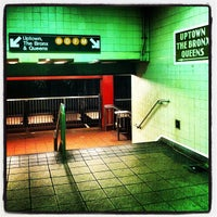Photo taken at MTA Subway - 34th St/Penn Station (1/2/3) by Amy H. on 8/13/2013