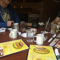 Photo taken at Flapjack's Pancake Cabin by Erin V. on 9/28/2014