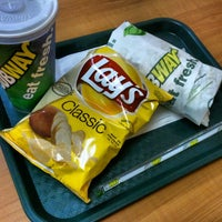 Photo taken at SUBWAY by Elio N. on 1/22/2013