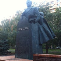 Photo taken at памятник чуйкову by Ekaterina S. on 9/11/2015