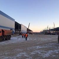 Photo taken at Индустриальный парк «Холмогоры» by Антон К. on 11/29/2014