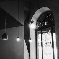 Снимок сделан в DRUZI cafe & bar пользователем Julia H. 1/17/2016