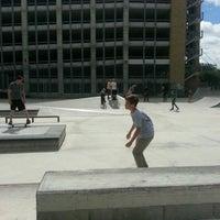 Photo taken at House Park Skatepark by Matt J. on 9/30/2012