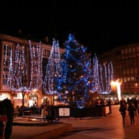 Photo taken at Plaza Mayor by Marian G. on 12/28/2012