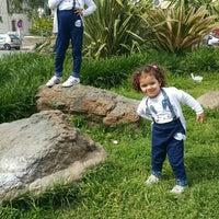 Photo taken at Davutlar Ibrahim Saka Parkı by Özlem E. on 4/10/2016