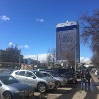 Photo taken at Трамвайная остановка «Метро «Сокол» by Alexander S. on 3/31/2017