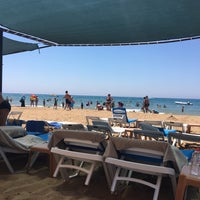 7/4/2018 tarihinde Özgür A.ziyaretçi tarafından Royal Atlantis Spa & Resort Hotel Beach'de çekilen fotoğraf