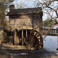 Photo taken at Grist Mill / Stone Mountain Park by Nathan N. on 3/22/2014