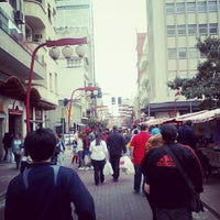 Photo taken at Feira de Arte, Artesanato e Cultura da Liberdade by Gilliard O. on 10/14/2012