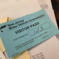 Photo taken at New Jersey Motor Vehicle Commission by Mae Anne P. on 10/16/2014