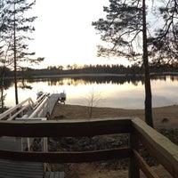 Photo taken at Majasaari by Mikael L. on 4/19/2014
