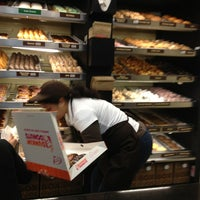 Photo taken at Dunkin' Donuts by Lucy R. on 3/10/2013