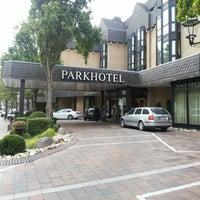 Photo taken at Parkhotel Gütersloh by Alex C. on 9/18/2012