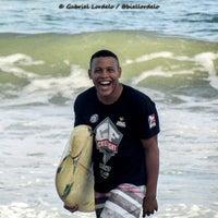 Photo taken at Praia de Paramana by Gabriel Lordêlo #. on 5/11/2015