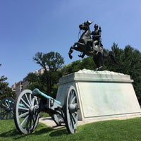 Photo taken at Andrew Jackson Statue by Chris T. on 7/8/2016